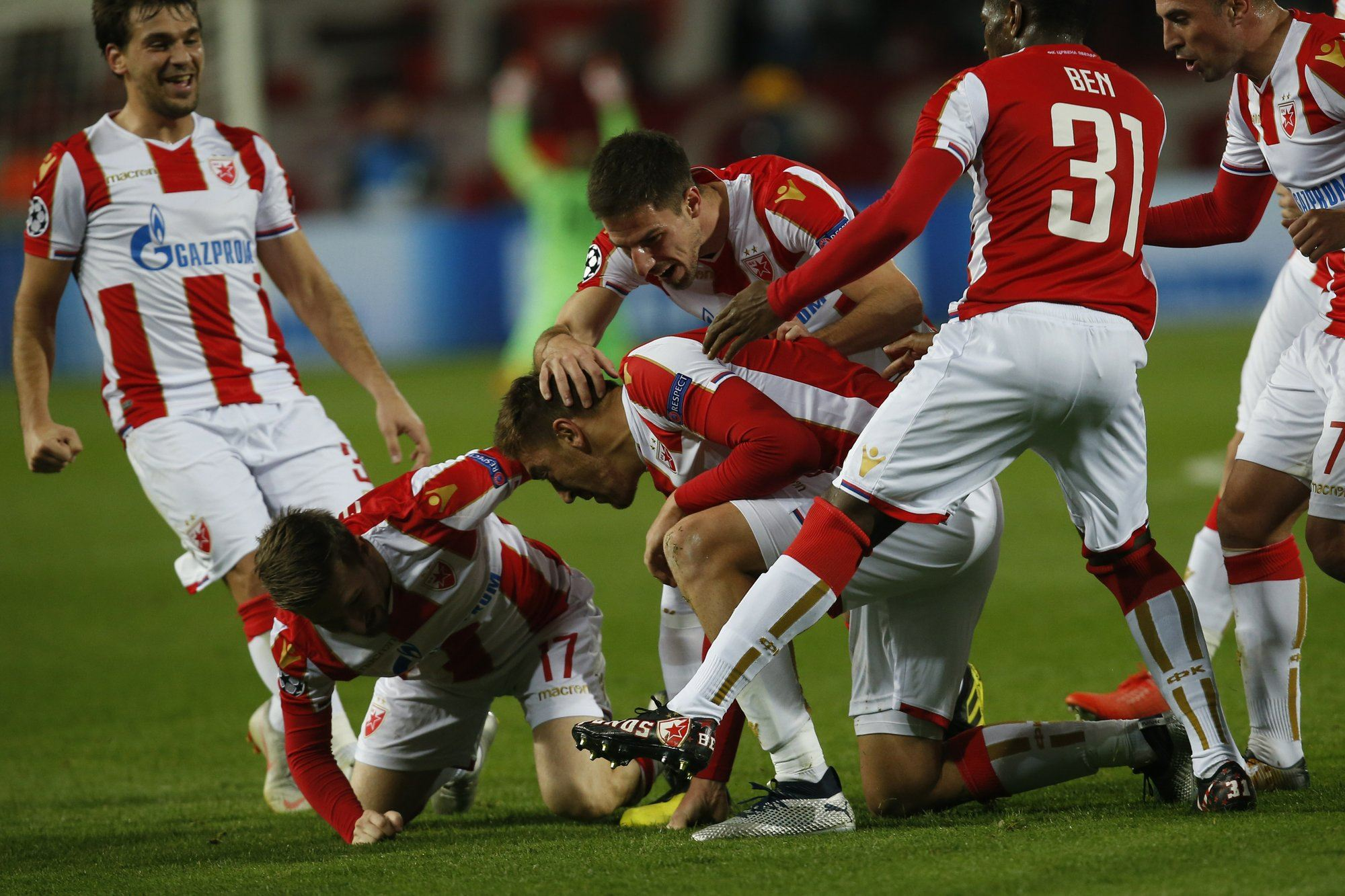 Red Star Liverpool Champions League