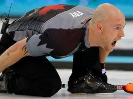 Former Canadian Olympian Ryan Fry was ejected along with his teammates from a curling tournament for unsportsmanlike behavior after showing up drunk to a game. (Image: Reuters/Laszlo Balogh)