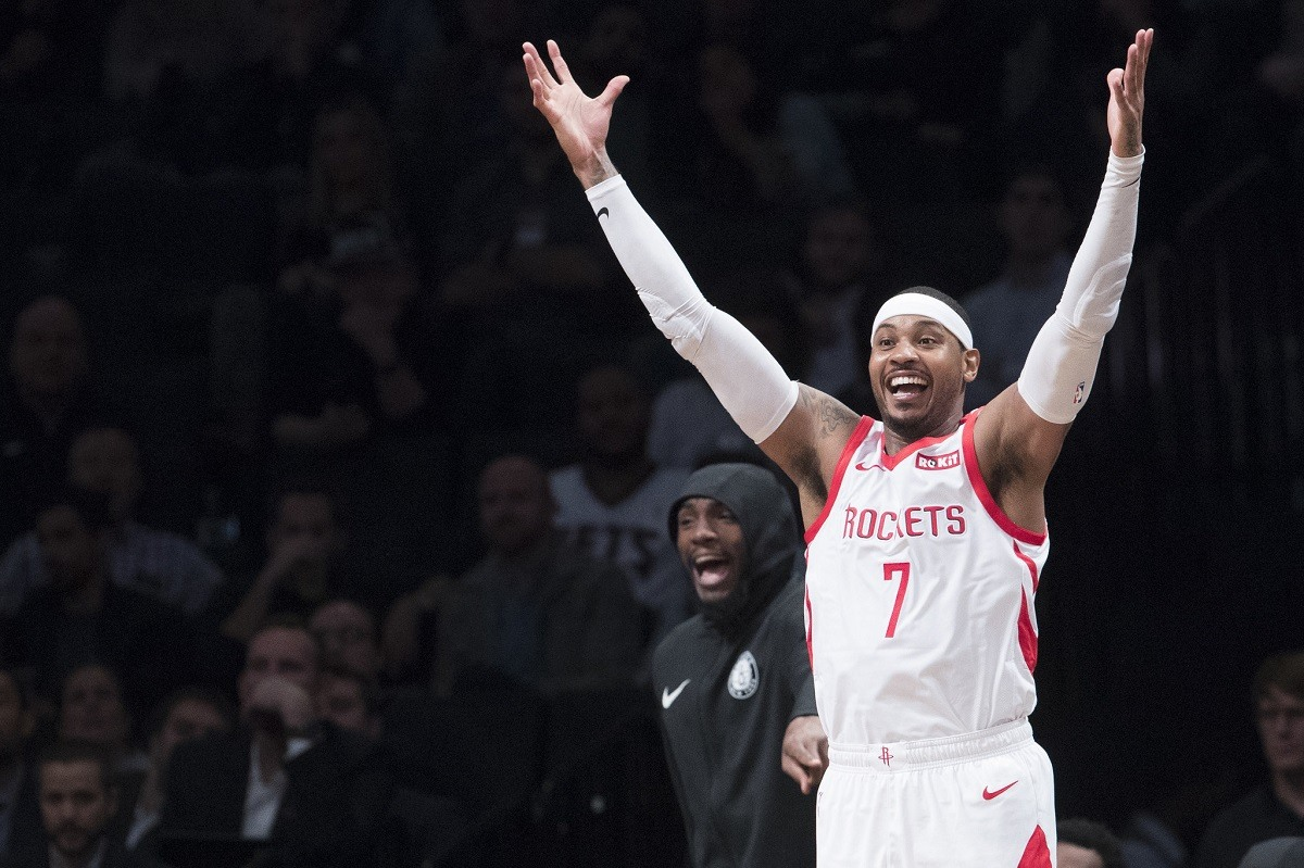 Houston Rockets Pull Plug on Carmelo Anthony After 10 Games