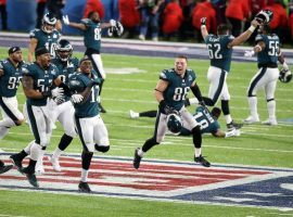 Bettors cleaned up when the Philadelphia Eagles won the Super Bowl, especially a gambler nicknamed Sir Let it Ride.