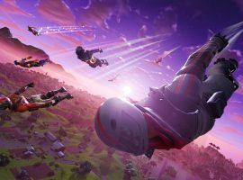 Fortnite's popularity continues to grow with 200 million total users and 8.3 million concurrent users. (Image: Epic Games)
