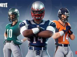 For a brief period, the NFL partnered with Epic Games, creator of Fortnite, to design uniform skins for all 32 NFL teams. (Image: Epic Games)