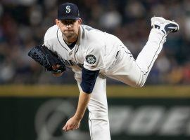 Lefty James Paxton tossed a no-hitter for the Seattle Mariners last season. (Image: Getty)