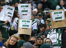 Jets fans haven't had a whole lot to cheer about in recent years, as the team has struggled. (Image: Getty)