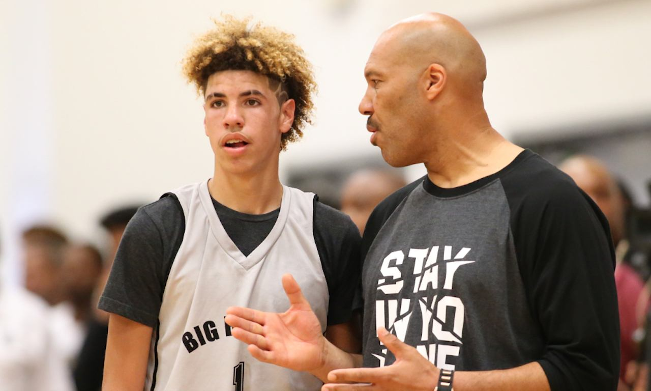 LaMelo and LaVar Ball