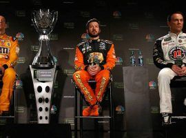 The Big Three in NASCAR of Kyle Busch, Martin Truex Jr., and Kevin Harvick are the favorites to take the season title on Sunday. (Image: Getty)