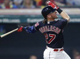 Josh Donaldson signed a one-year deal with the Atlanta Braves after playing for Toronto and Cleveland last season. (Image: Ron Schwane/AP)