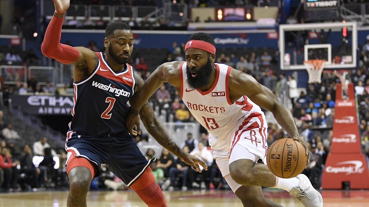 James Harden Scores 54 Points in Overtime Loss to Wizards