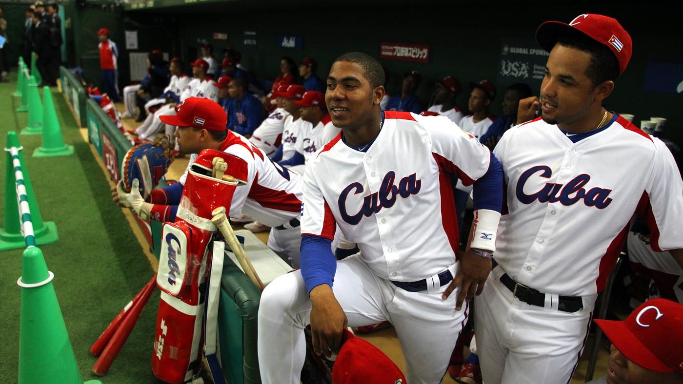 Cuba baseball players defections
