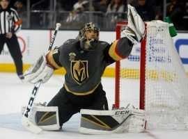 Vegas Golden Knights goalie Marc-Andre Fleury was heroic as the expansion team made an unlikely Stanley Cup run. (Image: TK)
