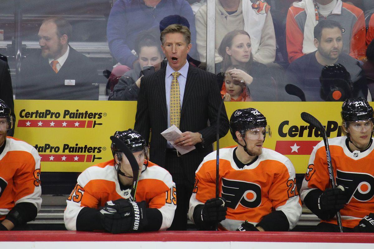 Dave Hakstol Philadelphia Flyers