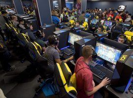"""While competitive esports are increasingly popular, the IOC says there are still """"uncertainties"""" that will keep the industry out of the Olympics for now. (Image: University of California, Irvine)"""