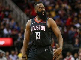 James Harden from the Houston Rockets torched the visiting LA Lakers for 50 points. (Image: Troy Taormina/USA Today Sports)