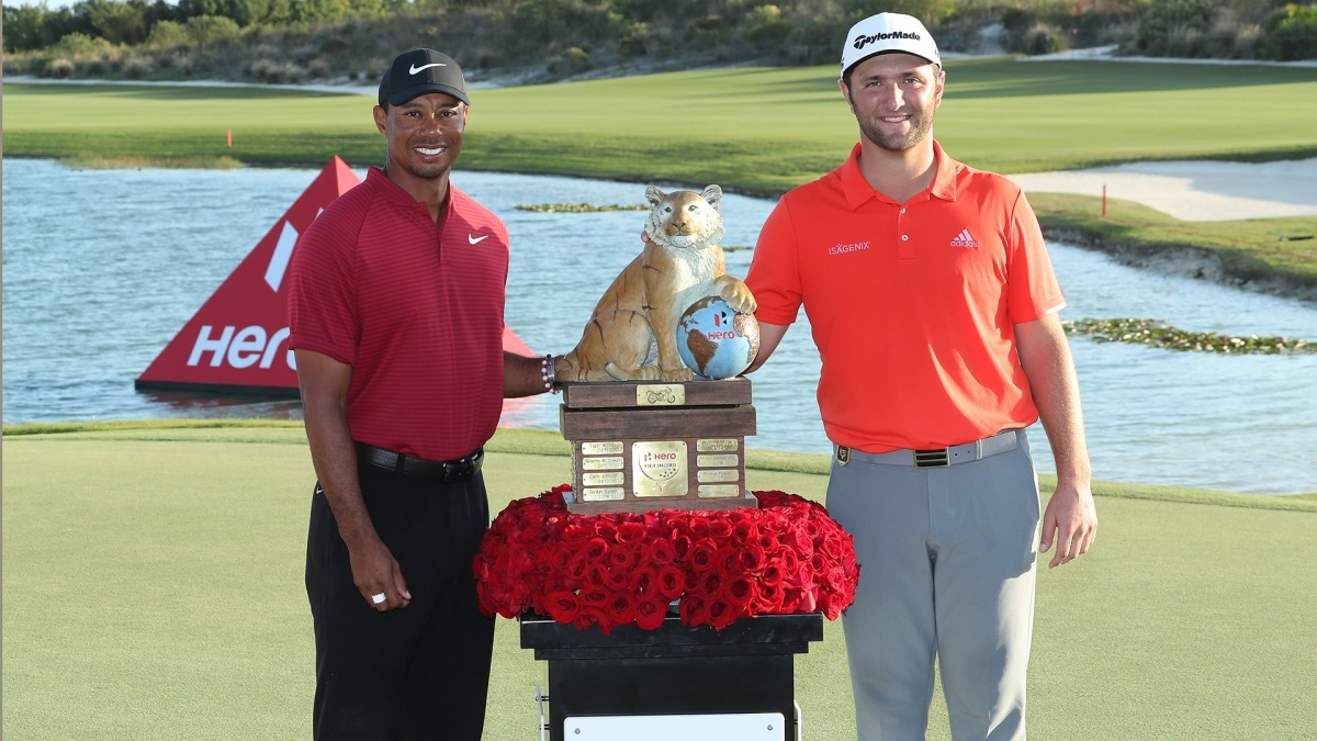 Jon Rahm breezes to Hero World Challenge title
