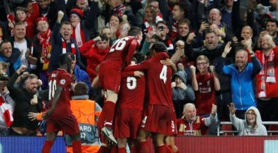 Undefeated Liverpool Hosts Manchester United Sunday in Premier League Test