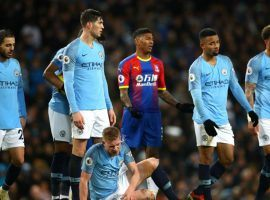 Manchester City will look to bounce back from a loss to Crystal Palace on Saturday when they travel to face Leicester City on Boxing Day. (Image: Getty)