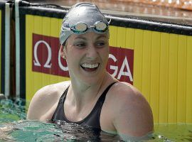 Five-time Olympic gold medalist Missy Franklin announced her retirement from competitive swimming on Wednesday. (Image: Getty)