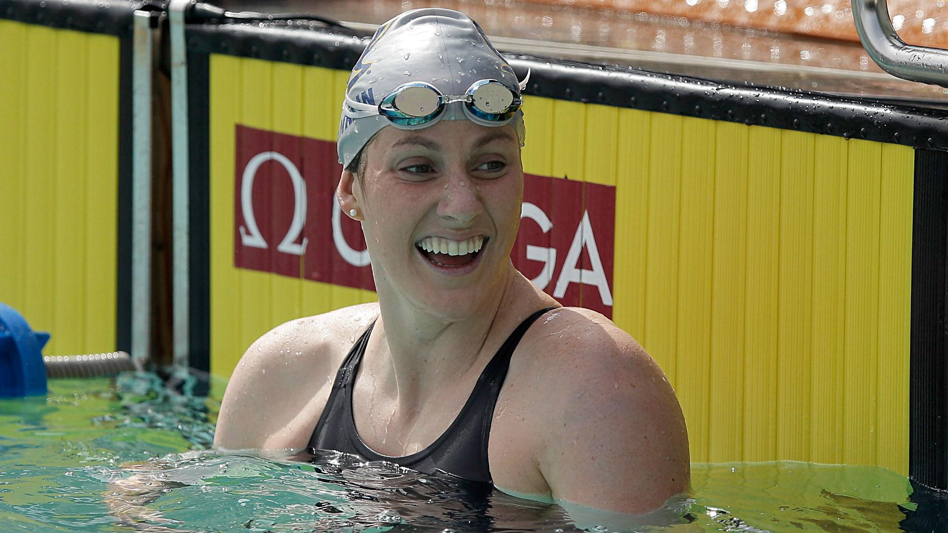 Missy Franklin retirement swimming