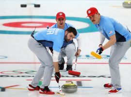 John Shuster (center) led the USA men's curling team to Olympic gold in 2018, significantly raising the profile of the sport in the United States. (Image: Dean Mouhtaropoulos/Getty)