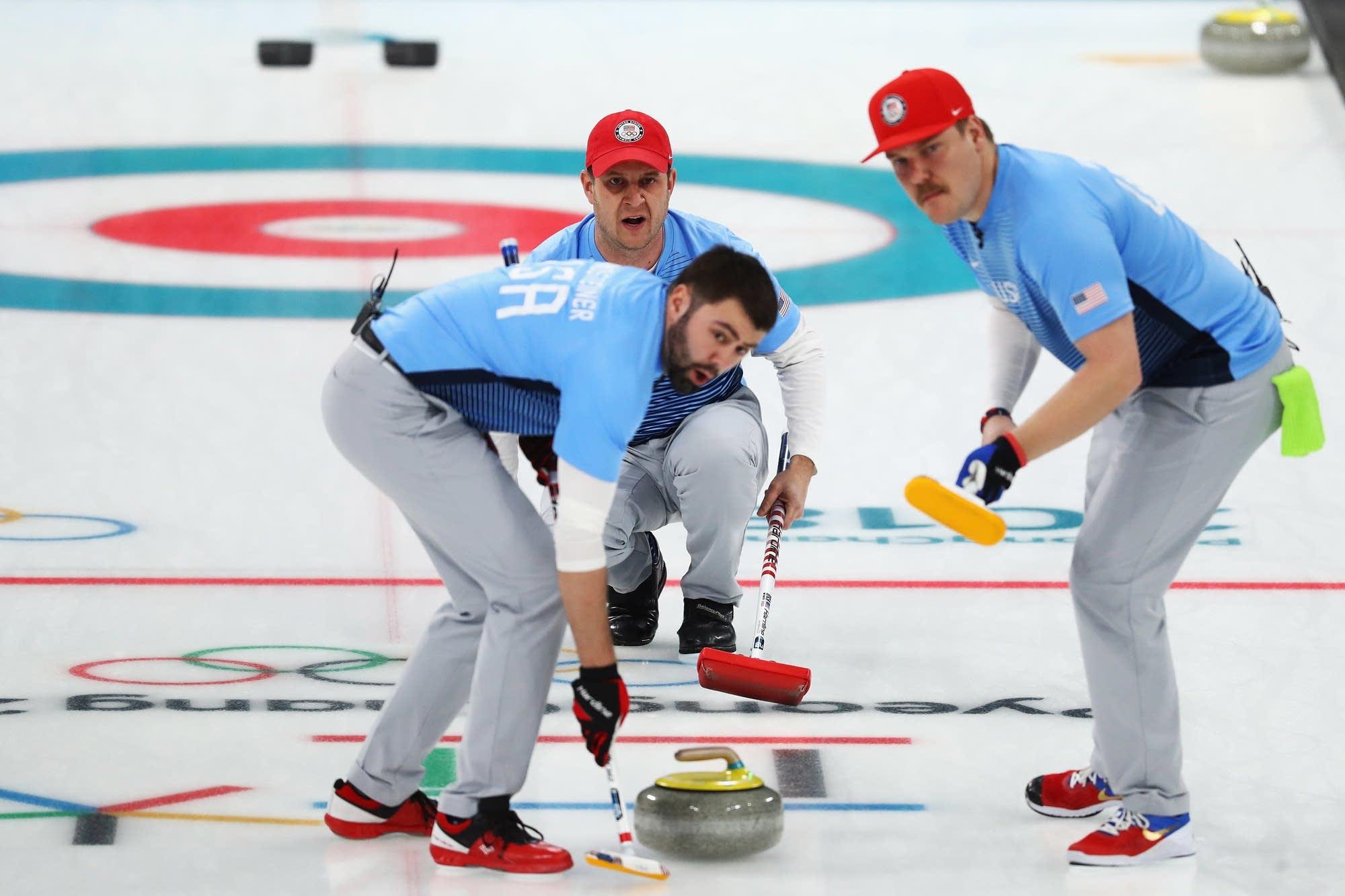 Curling Olympics 2018
