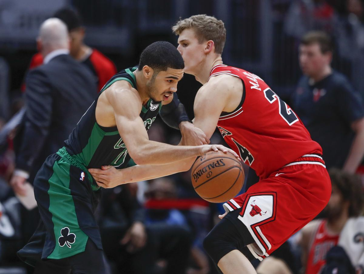 bca12c79271 Boston Celtics Blow Out Chicago Bulls by 56 Points (Video)