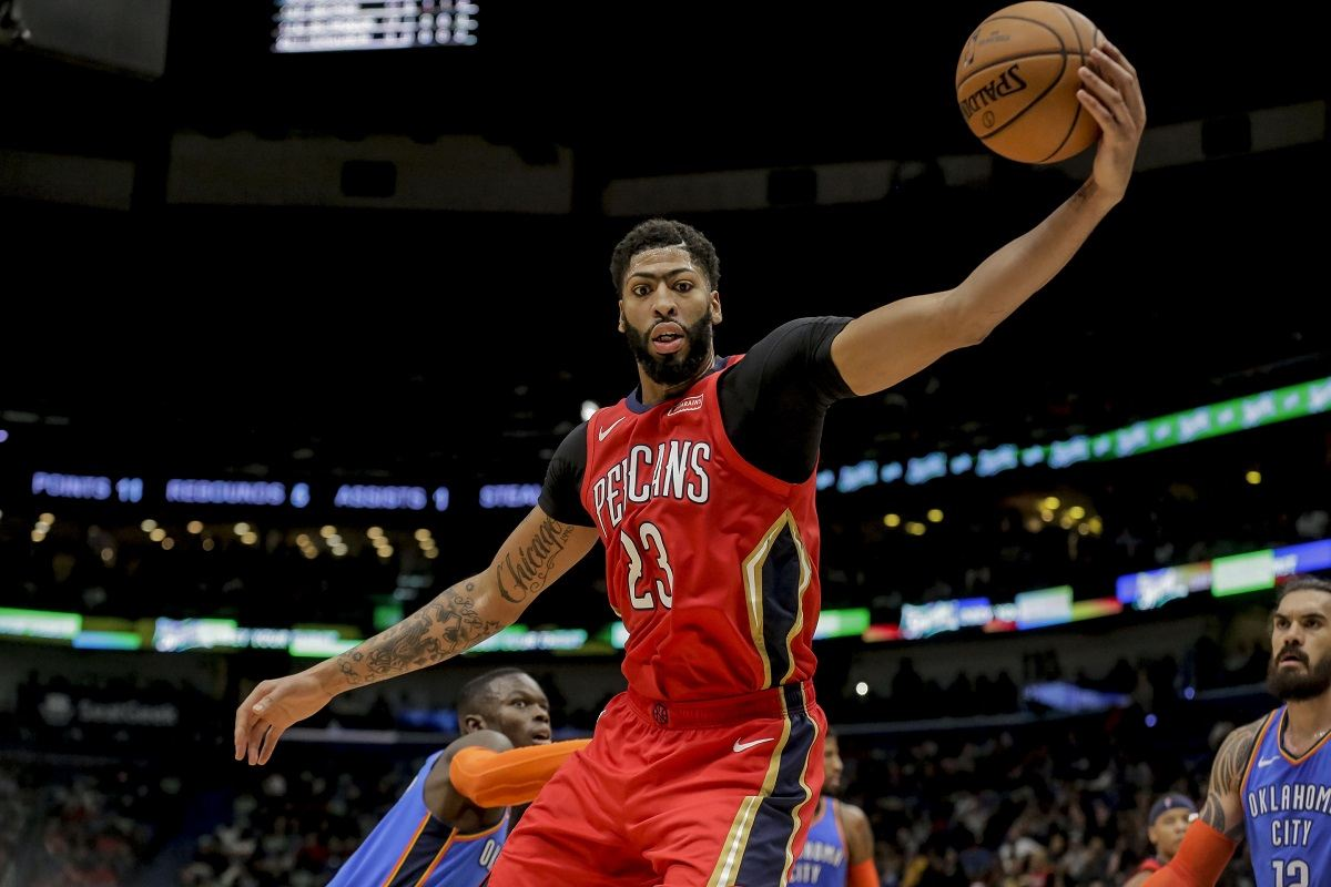 Anthony Davis to the Lakers? LeBron James Says Yes, Duh!