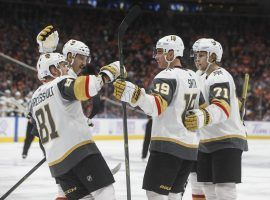 The Vegas Golden Knights established themselves as Las Vegas' team in their first season, and hope to follow that up with an equally impressive follow-up campaign. (Image: Jason Franson/Canadian Press/AP)