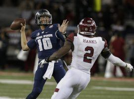 Utah State quarterback Jordan Love will have to have a big game if the Aggies are going to defeat North Texas. (Image: Deseret News)