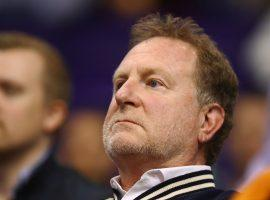 Phoenix Suns owner Robert Sarver has threatened to relocate the team if the city doesn't help pay for arena renovations. (Image: Mark J. Rebilas/USA TODAY Sports)
