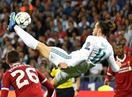 Gareth Bale had an incredible bicycle kick goal that led Real Madrid to the UEFA Champions League title. (Image: Getty)