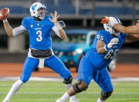 Buffalo quarterback Tyree Jackson is a projected top-10 pick in next April's NFL Draft. (Image: University of Buffalo)