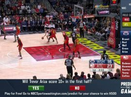 NBC Sports Washington will broadcast a second, alternate feed for some Wizards games this season that is designed to appeal to sports bettors. (Image: NBC Sports Washington)