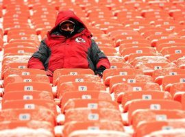 The cold weather expected at Arrowhead Stadium for the AFC Conference Championship could affect both Kansas City and New England. (Image: Getty)
