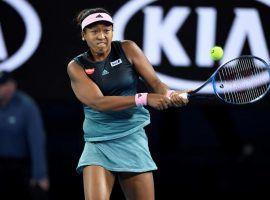 Naomi Osaka, representing Japan, during the Ladies final at the Australian Open in Melbourne, Australia. (Image: AP)