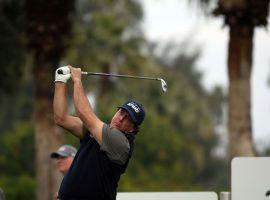 Phil Mickelson complained of rust in his golf game before the start of the Desert Classic, then promptly went out and nearly shot a 59. (Image: The Desert Sun)