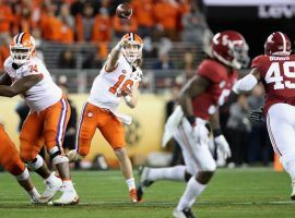 Trevor Lawrence led Clemson to the national title and is the favorite to win next season's Heisman Trophy. (Image: Getty)