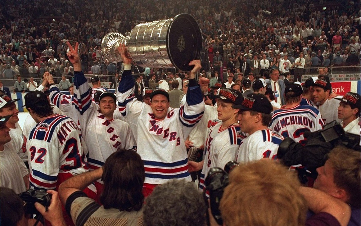 New York Rangers Celebrate 25th Anniversary of 1994 Stanley Cup Team 781e2319f