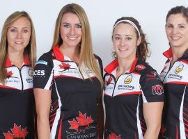 Rachel Homan's team will be representing Ontario, and is the favorite to win the 2019 Scotties Tournament of Hearts. (Image: Grand Slam of Curling)
