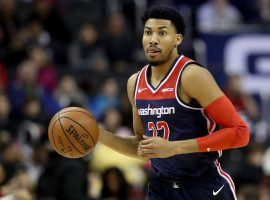 Washington Wizards small forward Otto Porter, Jr. during a game against the 76ers in Philadelphia in late 2018. (Image: Robb Carr/Getty)