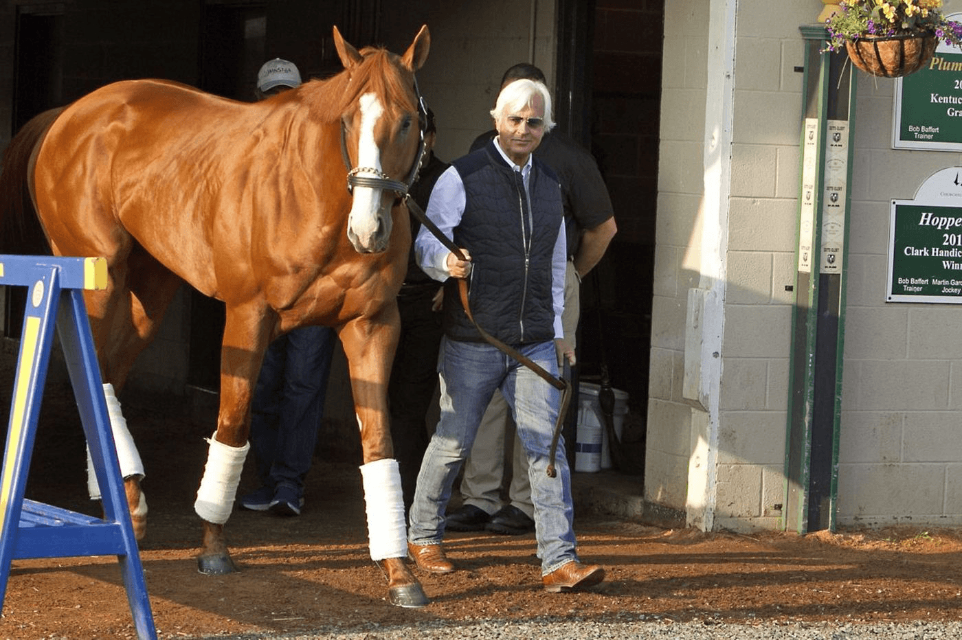 Bob Baffert and Justify