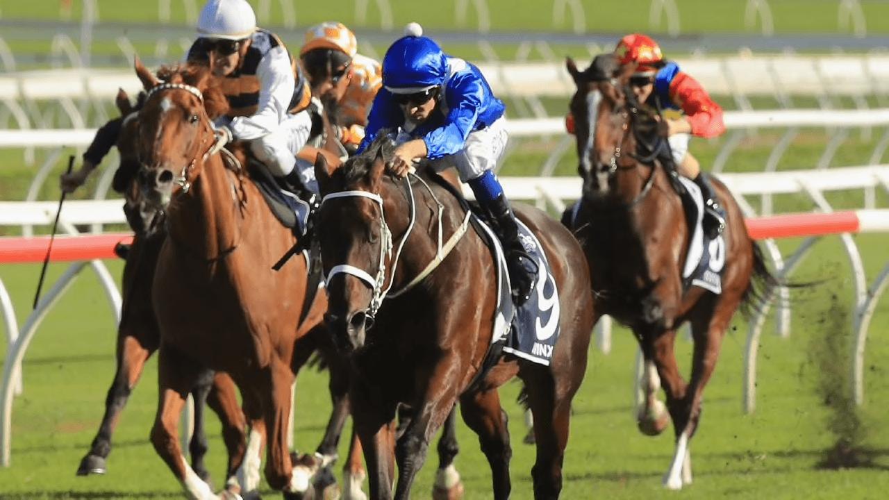 Down Under Wonder Winx winning 2018 Queen Elizabeth Stakes at Royal Randwick