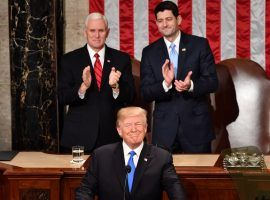 Though President Donald Trump has said he want to work with Democrats, his State of the Union speech could be extremely bipartisan, unlike his first one. (Image: Getty)