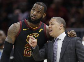 Ty Lue coached Le Bron James in Cleveland and is one of the favorites to get the LA job if Luke Walton is fired. (Image: AP)