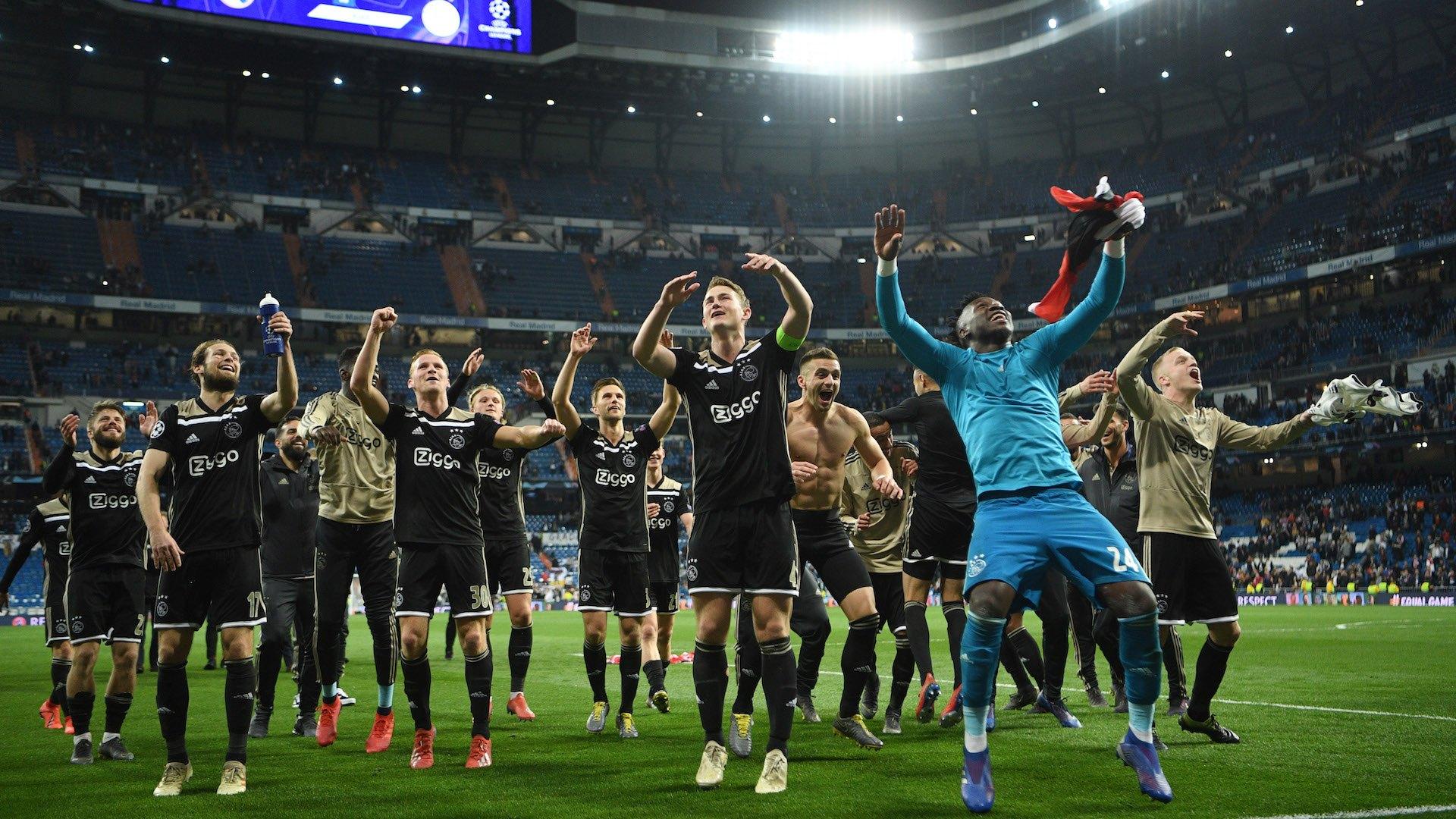 Ajax Real Madrid Champions League