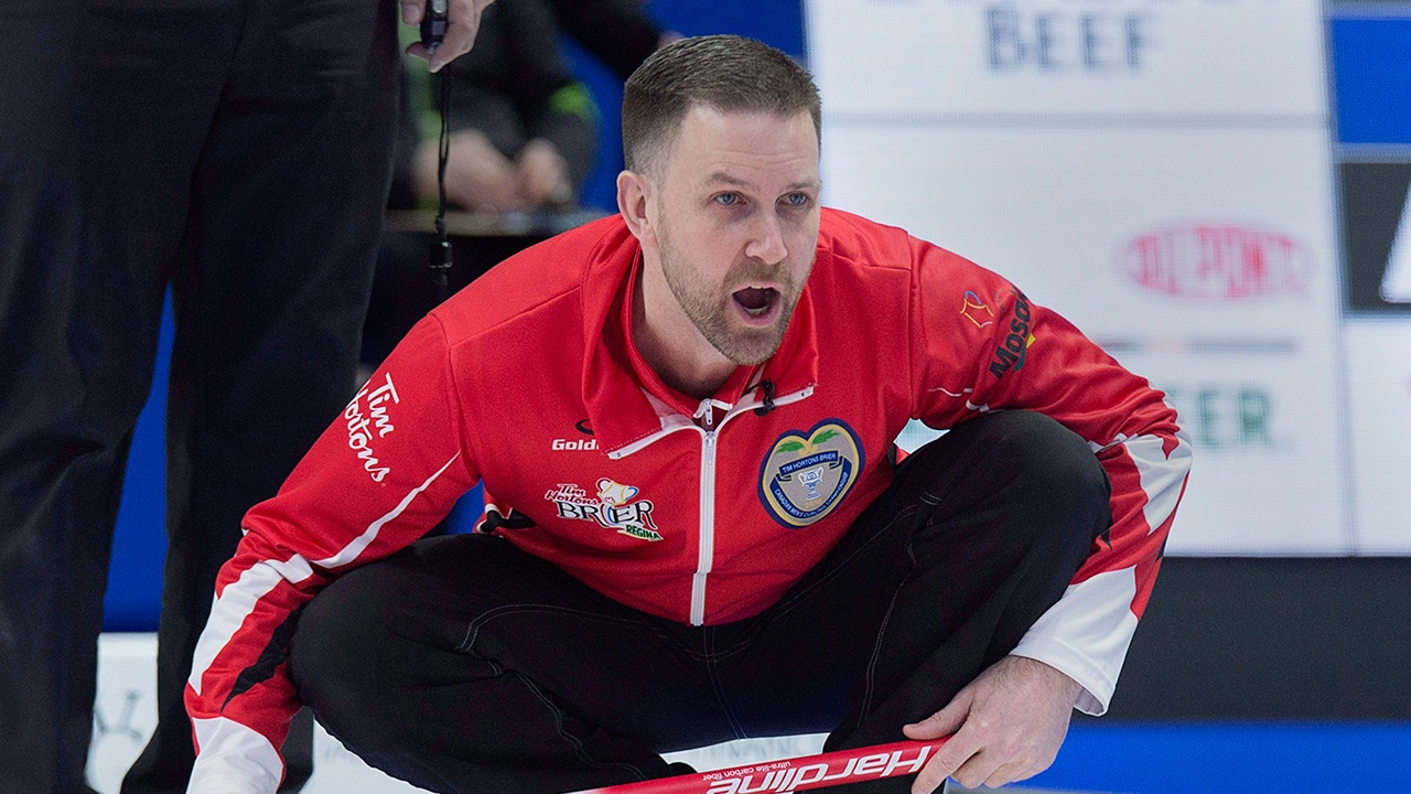 Brier odds curling Gushue