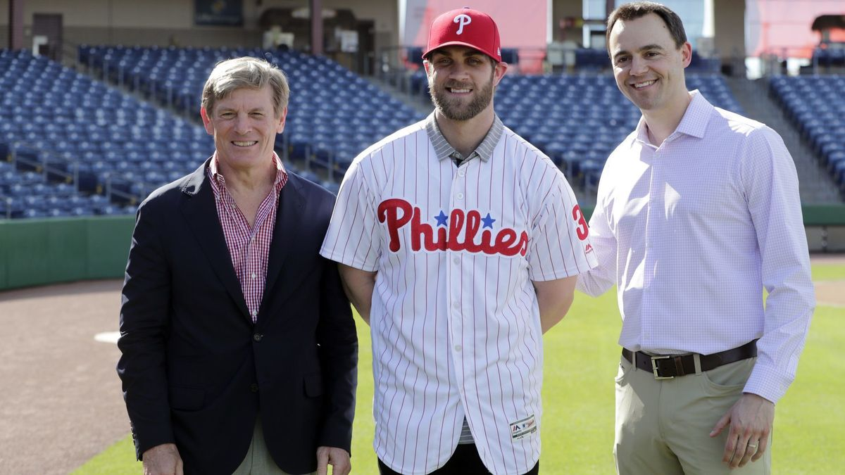 New Phillie Bryce Harper Sets Jersey Sales Records