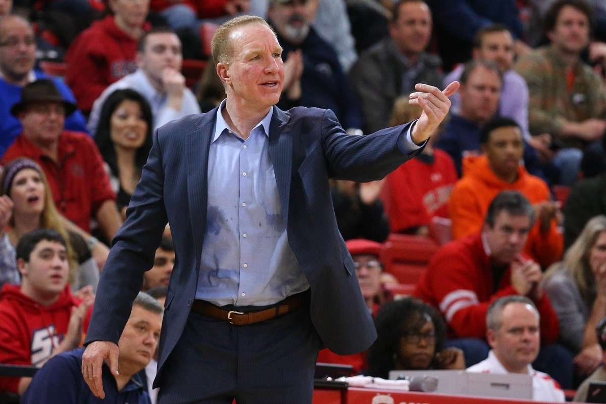 Chris Mullin St. John's basketball