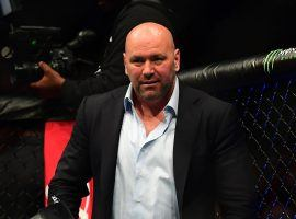 Dana White signed a seven-year extension that will see him stay on as UFC president. (Image: Ron Chenoy/USA Today Sports)