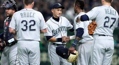 Ichiro Suzuki Draws Walk in Seattle Mariners Win Over Oakland Athletics in Tokyo
