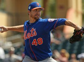 Jacob deGrom has agreed to a five-year, $137.5 million contract extension with the New York Mets. (Image: AP)